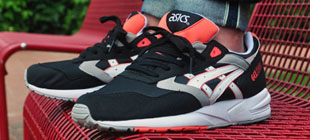 Cheap Asics GEL SAGA Black Sale 2017