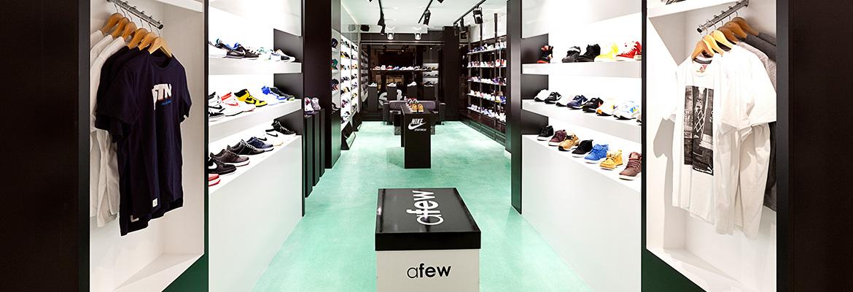 Afew Store Innenansicht