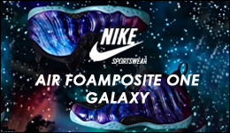 Nike Air Foamposite One Galaxy