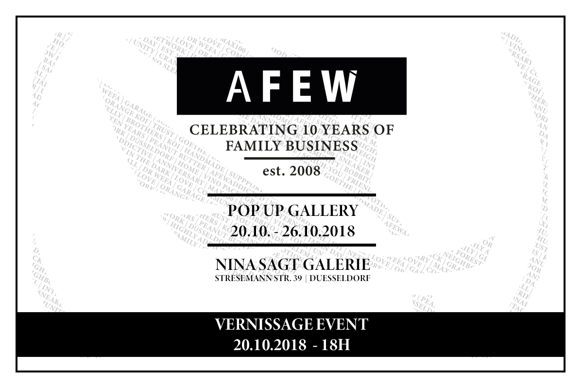 Afew 10th Anniversary Gallery
