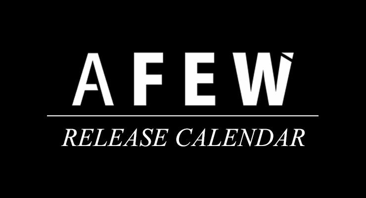 Afew Release Calendar