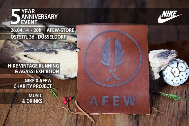 5 Jahre Afew Store