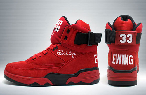 Ewing Shoe Red