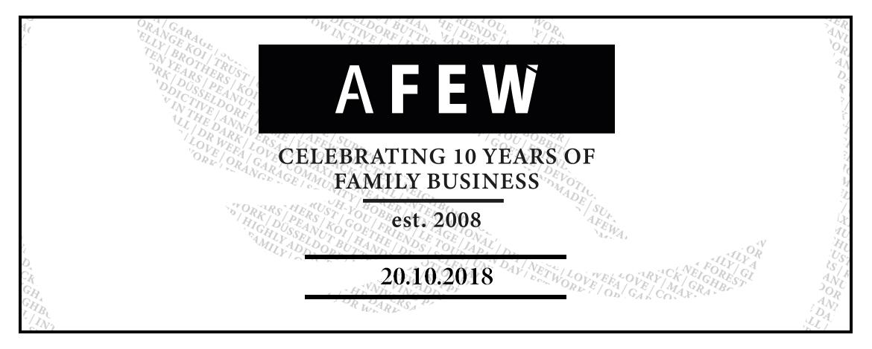 Afew 10th Anniversary