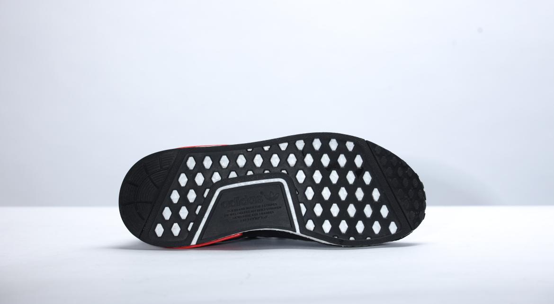 New Adidas NMD_R1 PK Prime Knit OG Core Black Lush Red