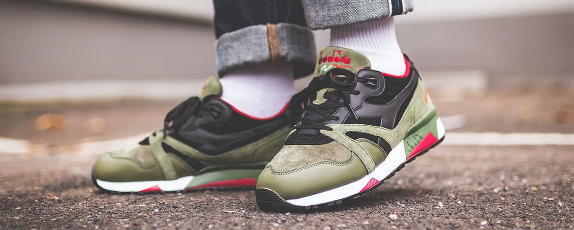 Diadora N9000 - Buy it now at the Afew Sneaker Store 692ecfd99a