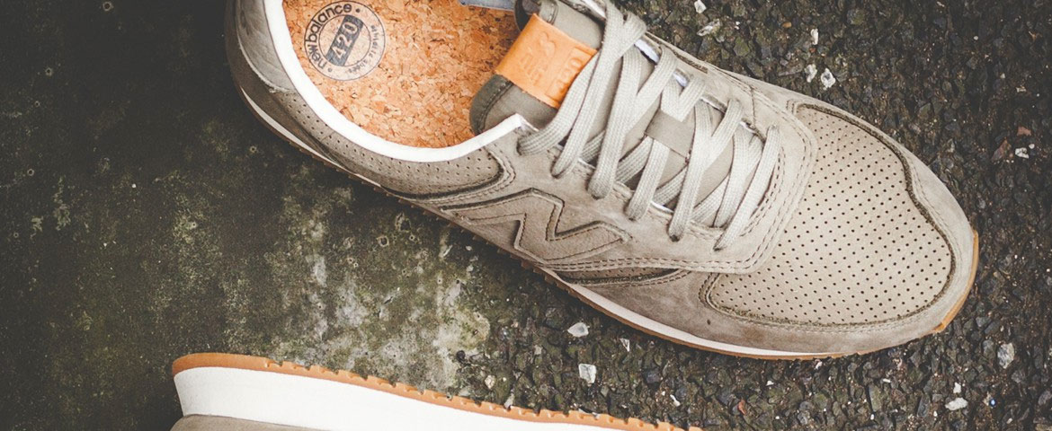new balance 420 tan with navy