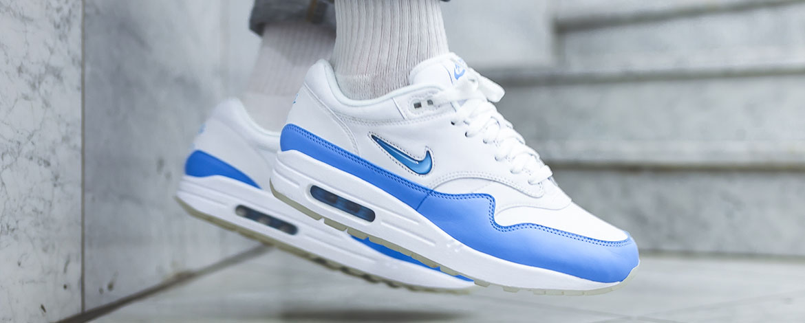 Nike Air Max 90 Mesh (GS) White University Red Racer Blue